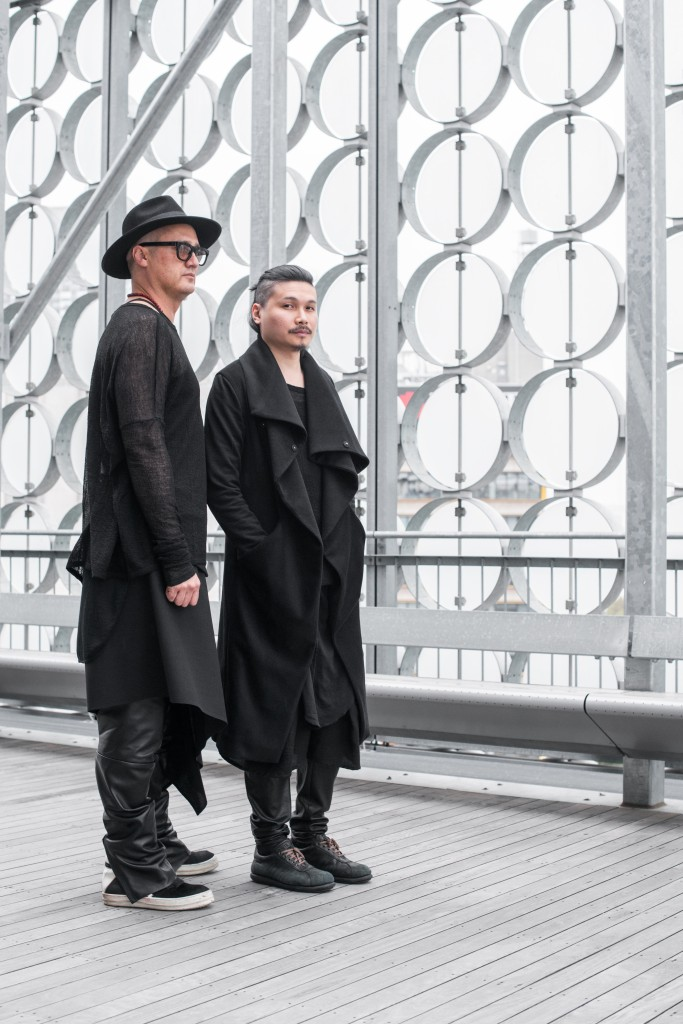 Lui Hon and Luka Maich standing together prior to the event at the Lui Hon Prive Show 2015/2016.