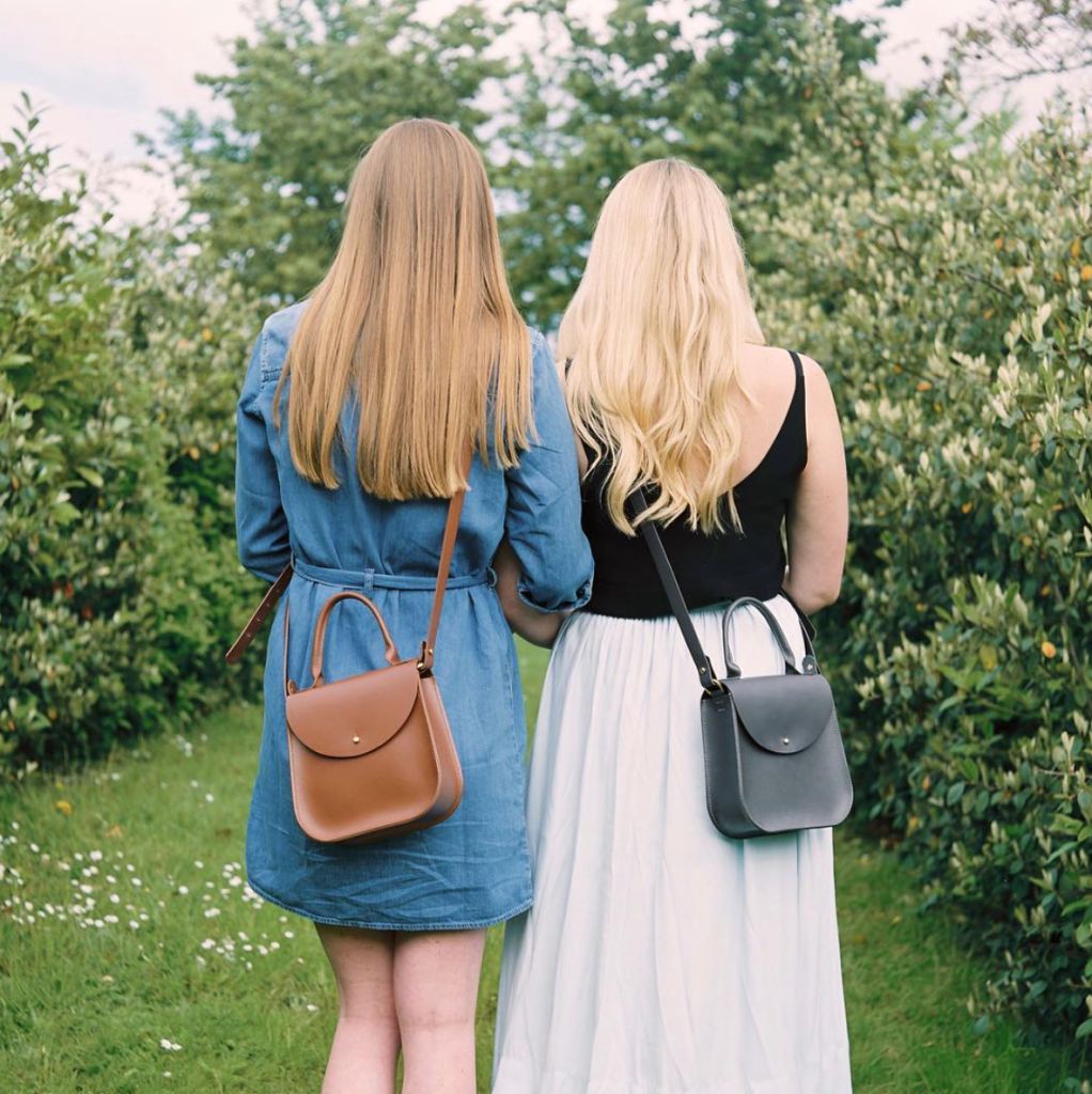 """The Bloomsbury"" designer handbag collection by Charlotte Elizabeth."