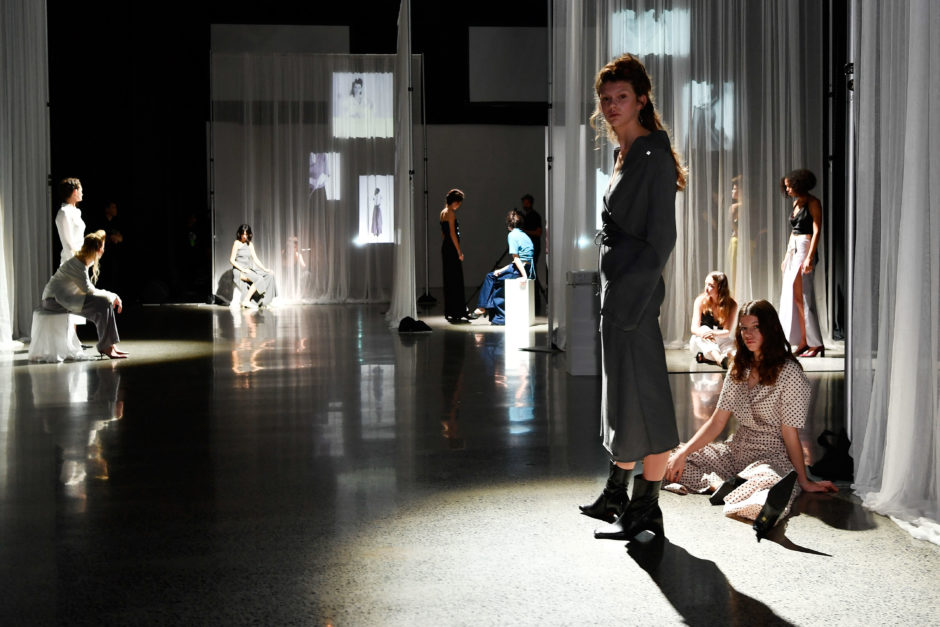 Rachel Mills at New Zealand Fashion Week 2018 in Auckland, seen and written about by intern Sophie.