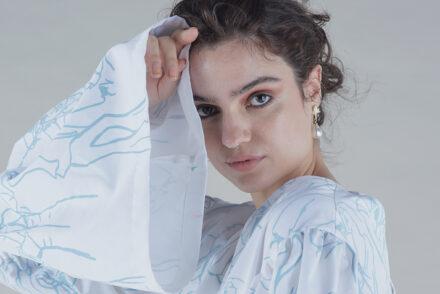 Mirka (Kiki) Ollilo and her graduate collection from Fashion Design Studio 2020